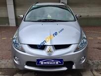 Cần bán gấp Mitsubishi Grandis 2.4 Mivec đời 2009, màu bạc chính chủ, giá tốt