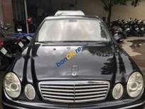 Bán xe Mercedes E240, 5 chỗ ngồi, sản xuất 2004, màu đen