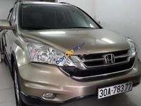 Bán xe cũ Honda CR V bản 2.4 Việt Nam Sx cuối 2010, xe đẹp xuất sắc