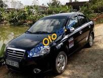 Chính chủ bán Daewoo Gentra MT đời 2010, màu đen