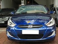 Bán xe Hyundai Accent Blue sản xuất 2015, màu xanh lam, nhập khẩu chính chủ, giá tốt