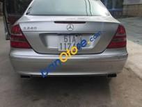 Cần bán gấp Mercedes E240 đời 2003, màu bạc, nhập khẩu