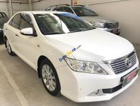 Cần bán xe Toyota Camry 2.5G đời 2013, ĐK 2014, màu trắng, giá tốt nhất