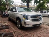 Bán ô tô Cadillac Escalade ESV Platinum 6.2L đời 2017, màu trắng, nhập Mỹ. Giao ngay 0902.00.88.44