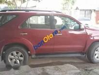 Gia đình bán Toyota Fortuner V năm 2011, màu đỏ