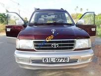Bán ô tô Toyota Zace GL đời 2002, màu đỏ giá cạnh tranh