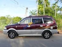 Cần bán gấp Toyota Zace GL đời 2002, màu đỏ, 267tr