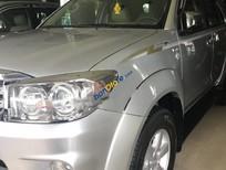 Cần bán lại xe Toyota Fortuner 2.5G đời 2010, màu bạc