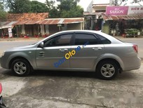 Cần bán lại xe Daewoo Lacetti đời 2007, màu bạc