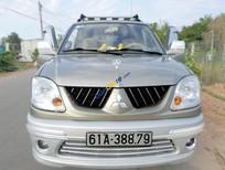 Mitsubishi Jolie 2.0 MPI, vàng cát, cuối 2005, lăn bánh 2007, đời cao nhất của Jolie, xe mới như xe hãng