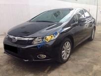 Bán xe Honda Civic đời 2013, màu đen, 4 vỏ còn mới theo xe, 2 chìa khóa zin còn đủ