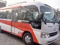 Bán xe khách Hyundai nhập khẩu 29 chỗ màu đỏ tại Hải Phòng HB73s 0936766663