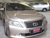 Bán Toyota Camry 2.5Q 2014, màu nâu vàng