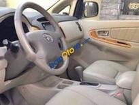 Cần bán xe Toyota Innova đời cuối 2008, 2.0 V, màu bạc, nội ngoại thất còn mới