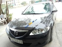 Bán xe Mazda 6 sản xuất 2005, màu đen, xe nhập