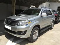 Bán Toyota Fortuner G năm 2013, màu bạc. Hỗ trợ vay 70%