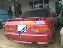 Bán xe Honda Accord sản xuất 1992, màu đỏ, nhập khẩu nguyên chiếc