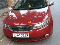 Xe Kia Cerato sản xuất năm 2011, màu đỏ, nhập khẩu nguyên chiếc