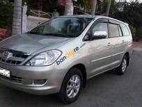 Xe Toyota Innova 2.0G năm sản xuất 2007, màu bạc xe gia đình