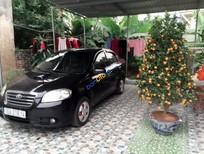 Xe Daewoo Gentra EX sản xuất 2009, màu đen
