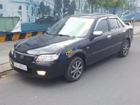 Bán ô tô Mazda 323 1.6MT sản xuất 2002, màu đen, giá 200tr