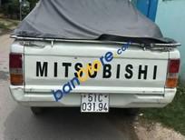 Cần bán xe Mitsubishi L200 sản xuất 1995, màu trắng
