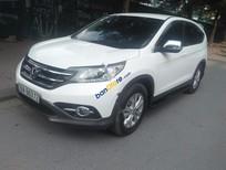 Cần bán lại xe Honda CR V 2.0AT sản xuất 2013, màu trắng