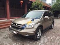 Cần bán Honda CR V sản xuất năm 2010, màu nâu đã đi 55000 km, giá chỉ 685 triệu