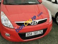 Bán Hyundai i20 AT đời 2010, màu đỏ