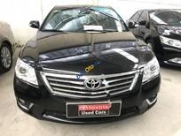 Cần bán lại xe Toyota Camry 2.4G đời 2012, màu đen