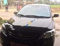 Bán xe Toyota Corolla altis 1.8MT đời 2010, màu đen, 590tr