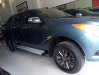 Cần bán gấp Mazda BT 50 2.2L 4x2AT đời 2015, màu xanh lam, nhập khẩu như mới, giá 550tr