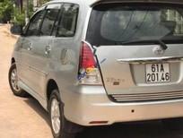 Bán ô tô Toyota Innova AT đời 2008, màu bạc xe gia đình, giá chỉ 480 triệu