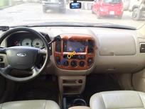 Cần bán Ford Escape đời 2004, màu đen số tự động