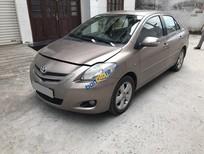 Cần bán Toyota Vios E đời 2009, màu nâu