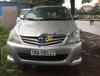 Bán Innova Sx 2008, nâng phom 2010, xe tư nhân