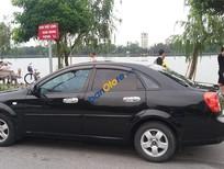 Cần bán lại xe Daewoo Lacetti sản xuất năm 2008, màu đen