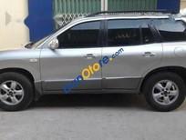 Cần bán xe Hyundai Santa Fe AT sản xuất 2008, màu bạc