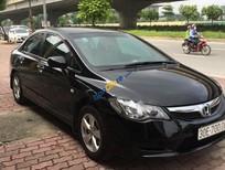 Bán Honda Civic 1.8 MT năm 2012, màu đen, số sàn, siêu mới