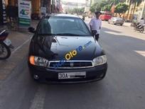 Bán xe cũ Kia Spectra LS đời 2005, màu đen, 165tr
