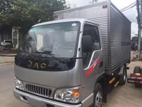 Giá xe tải JAc 2,4 tấn/ 2t4 thùng bạt/ Xe tải JAC 2tấn4/ JAC /2t 4 thùng kín