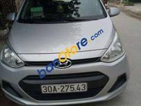 Bán Hyundai i10 MT 2014, màu bạc