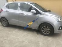 Cần bán xe Hyundai i10 MT đời 2015, màu bạc, nhập khẩu số sàn