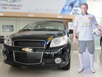 Cần bán Chevrolet Aveo LT sản xuất 2017, màu đen