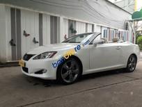 Bán ô tô Lexus IS 250C năm sản xuất 2010, màu trắng, nhập khẩu số tự động