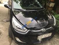 Bán nhanh Hyundai Accent Blue năm sản xuất 2014, màu đen