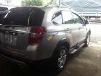 Cần bán Chevrolet Captiva LT đời 2009, màu bạc