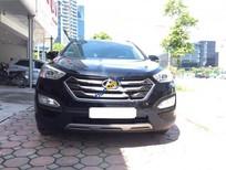 Bán Hyundai Santa Fe CRDi đời 2015, màu đen, máy dầu