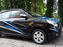Cần bán Kia Morning sản xuất 2009, màu đen xe gia đình