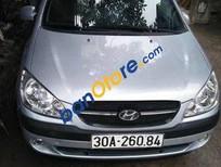 Bán Hyundai Getz MT sản xuất năm 2010, màu bạc số sàn, giá chỉ 235 triệu